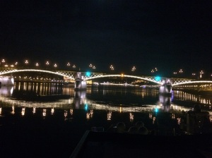 one bridge on the Danube in Budapest